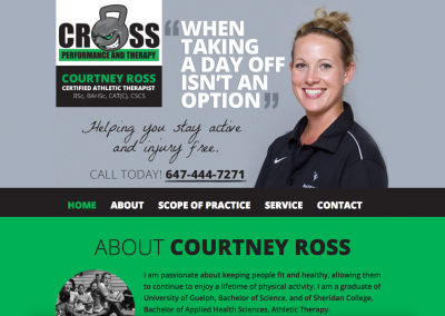 Cross Performance and Therapy