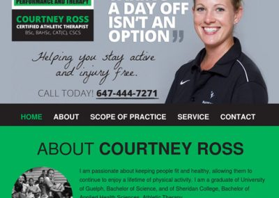Courtney Ross Performance and Therapy